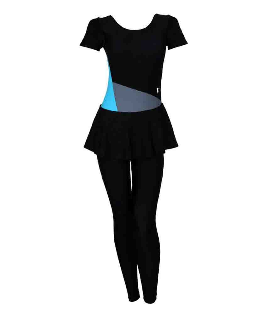 Veloz Nylon Women Swimwear Frock Dress