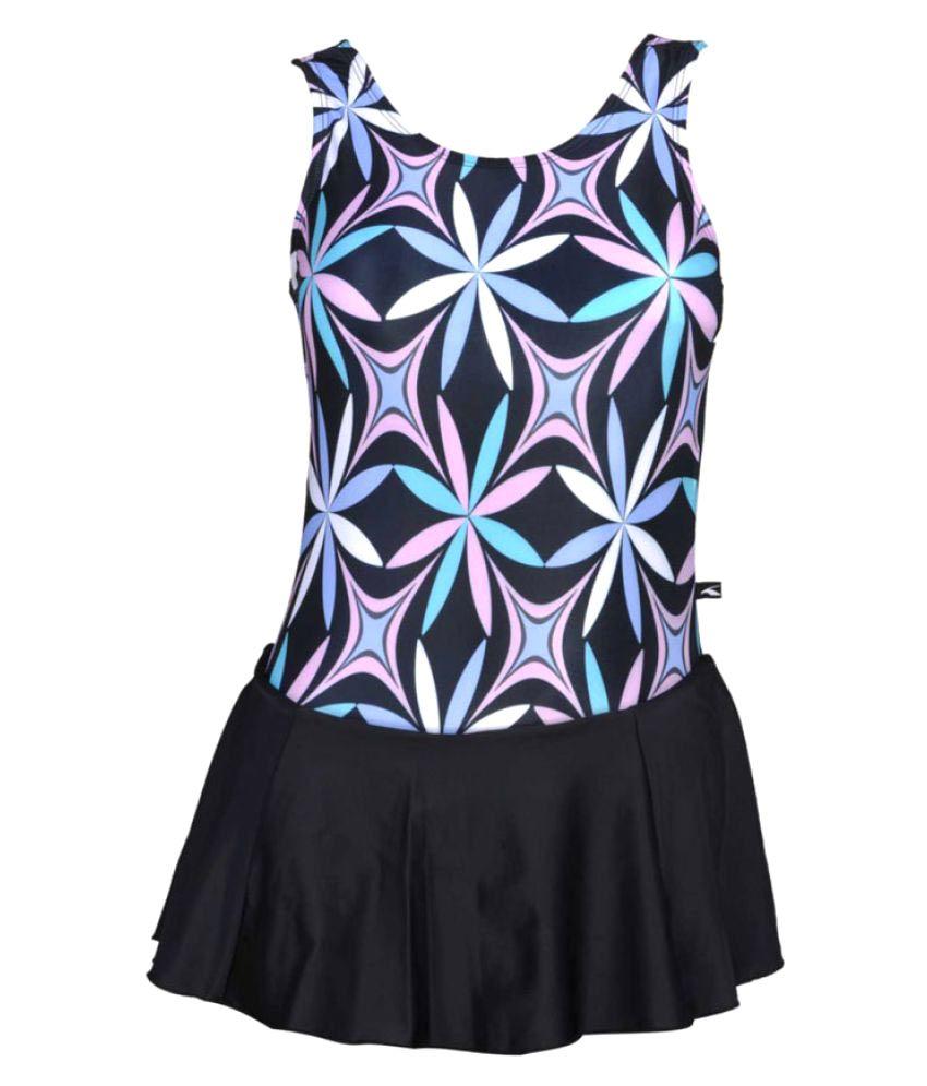 Champ Nylon Women Swimwear Frock/ Swimming Costume