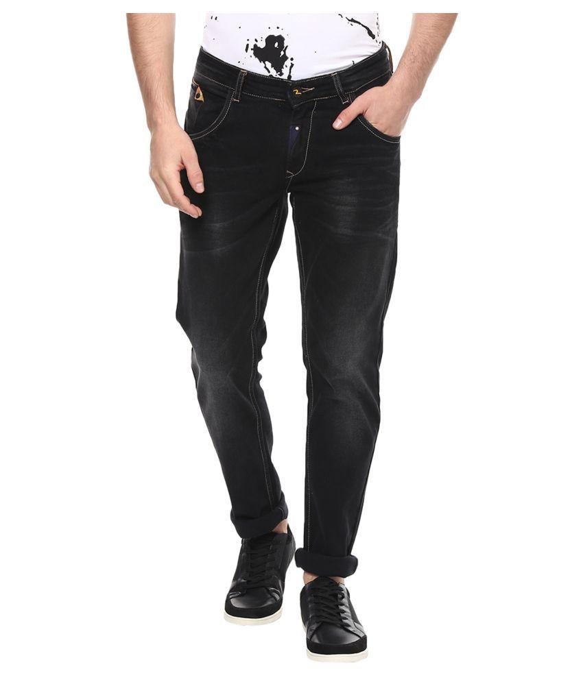 Spykar Black Slim Jeans
