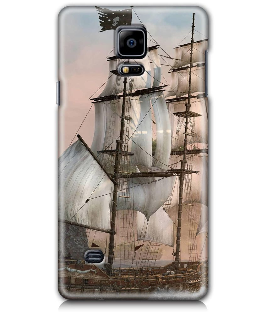 Samsung Galaxy Note 4 Printed Cover By SWAGMYCASE