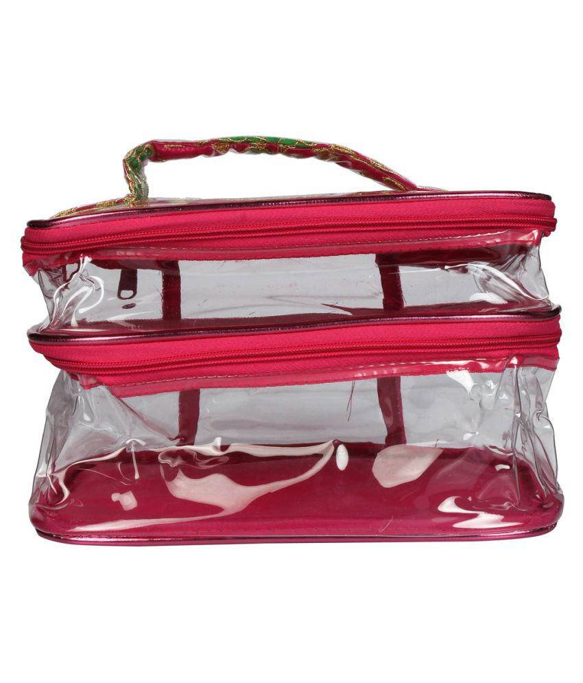 Ladybugbag Pink Vanity Kit and pouches - 1 Pc