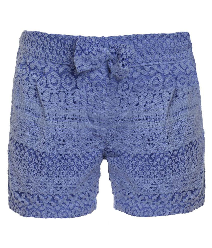 Ufo Blue Hot Pants