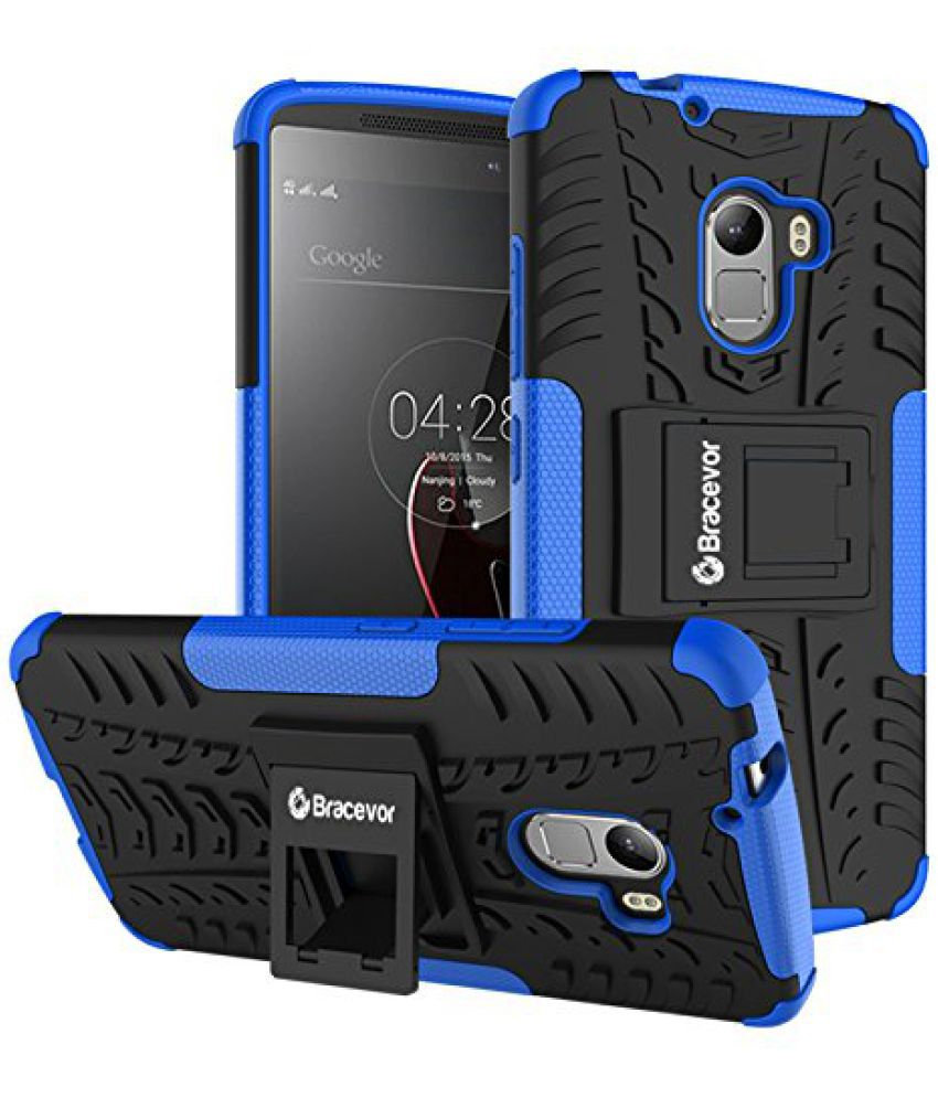 check out ef161 76b75 Lenovo Vibe K4 Note Cases with Stands Bracevor - Blue