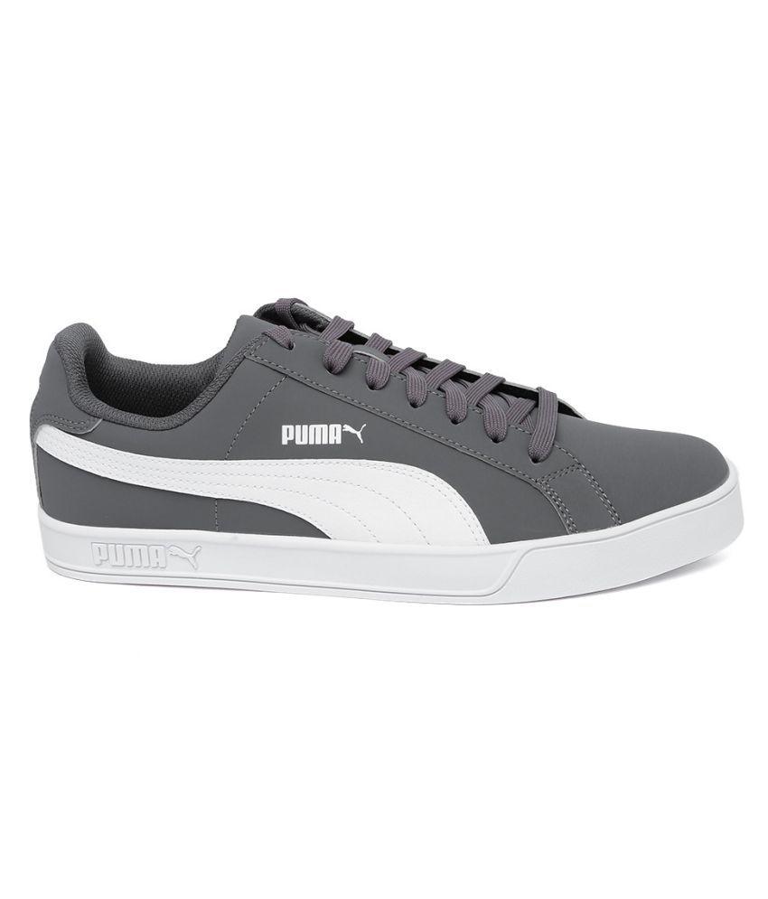 best sneakers edf8d 7f357 Puma Smash Vulc Lifestyle Gray Casual Shoes - Buy Puma Smash ...