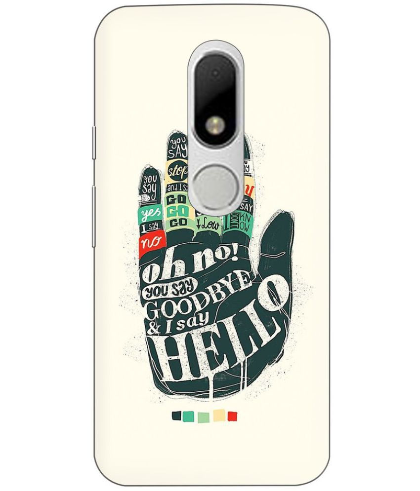 Moto M Printed Cover By Knotyy