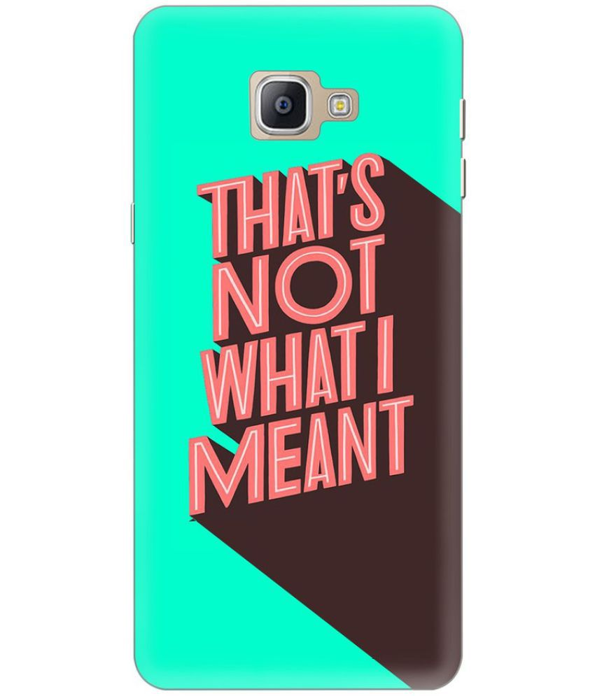 Samsung Galaxy A9 Pro Printed Cover By Knotyy