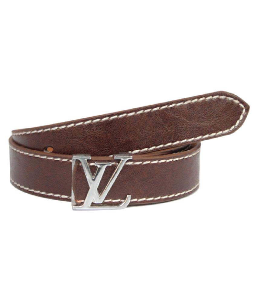 Fomti Brown Leather Casual Belts