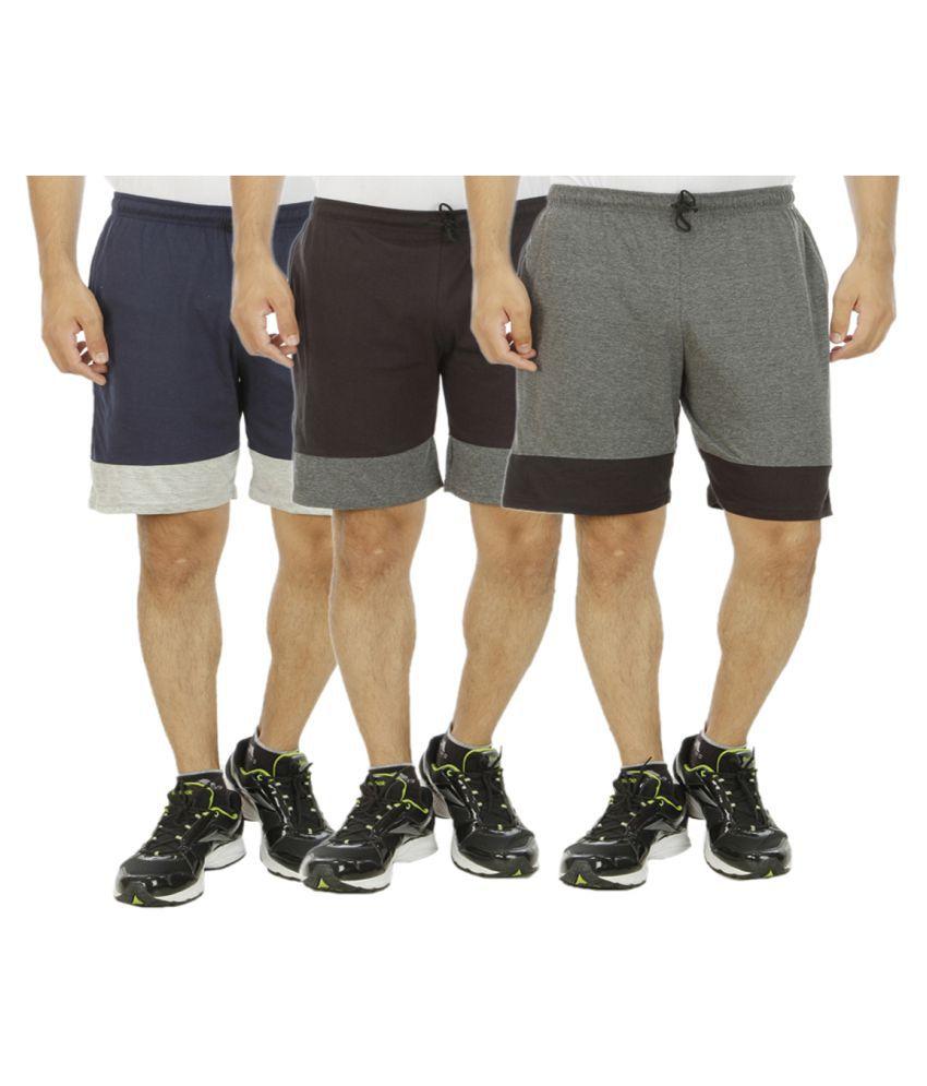 Hardys Collection Multi Shorts Pack of 3
