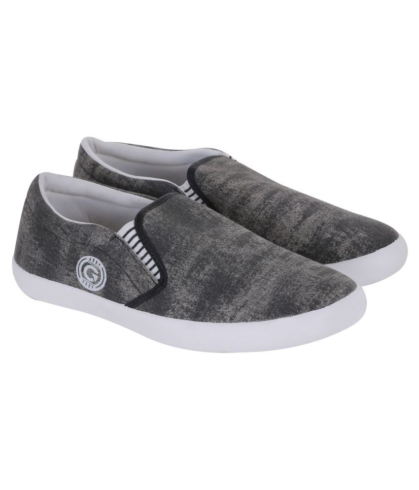 Globalite Loafers Espradrilles Gray Casual Shoes ...