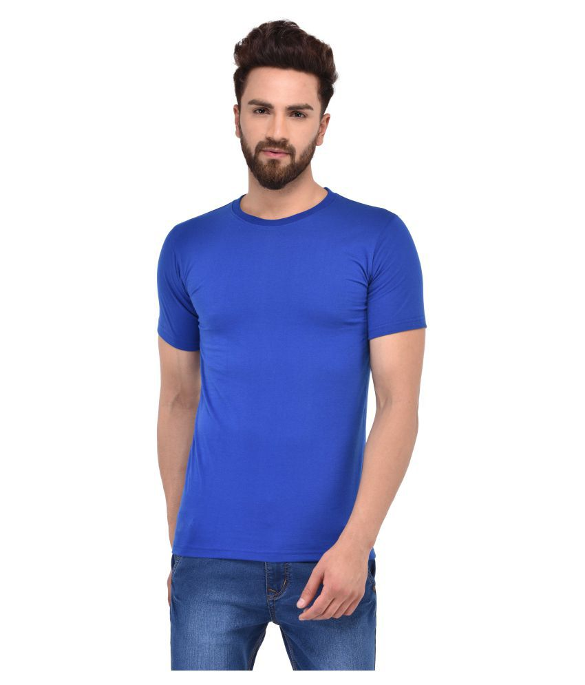 MSG Blue Round T-Shirt