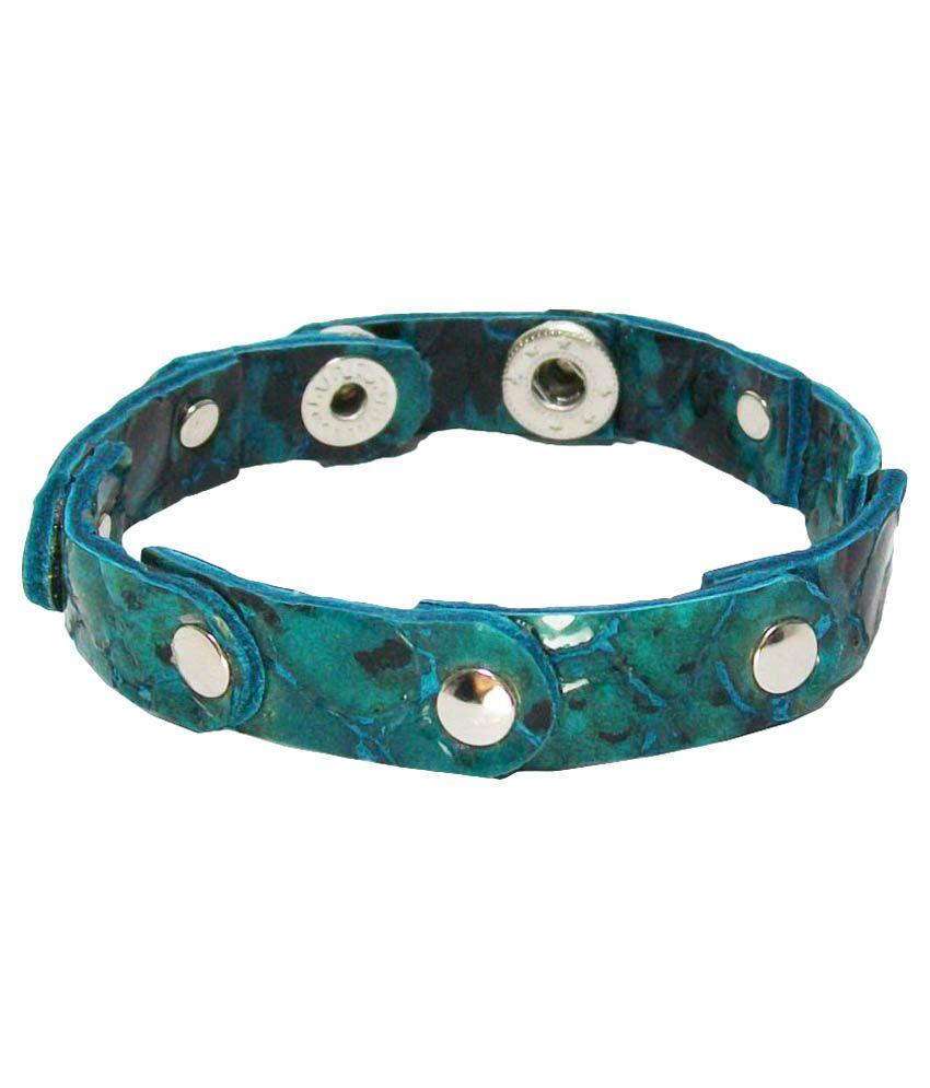 Transparent Multicolor Leather Bracelet