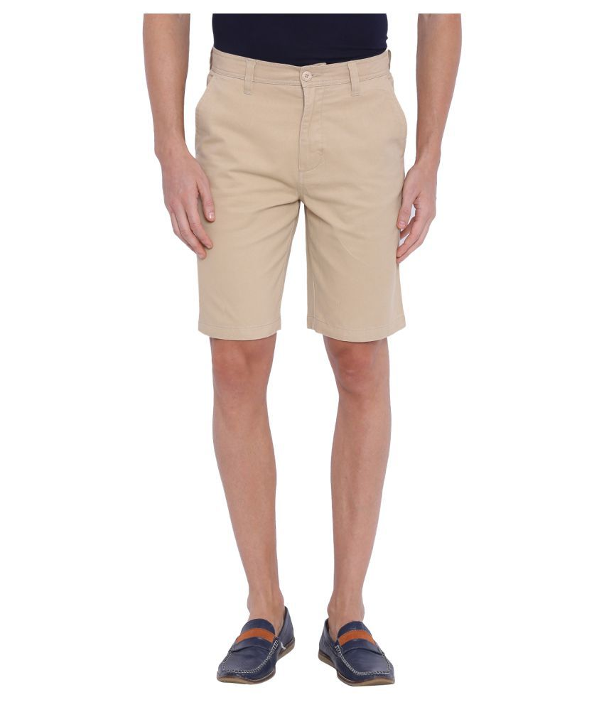 Blue Wave Khaki Shorts