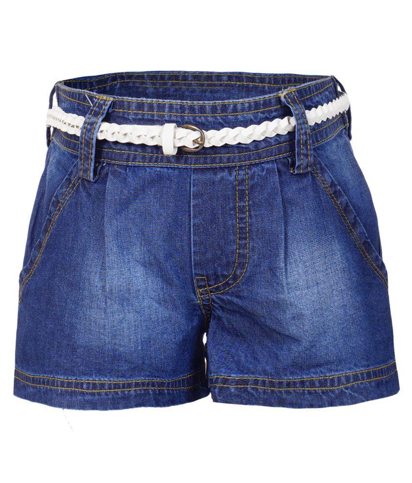 Naughty Ninos Blue Hot Pants