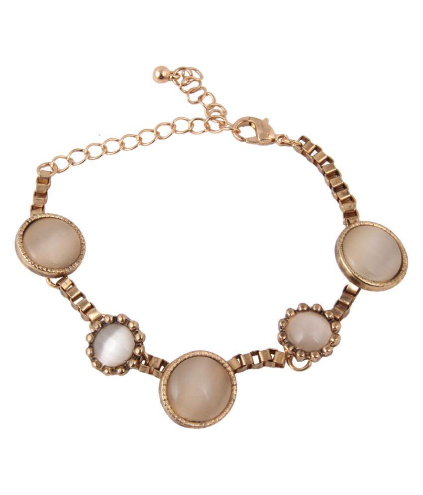 Jewelizer Golden Bracelet