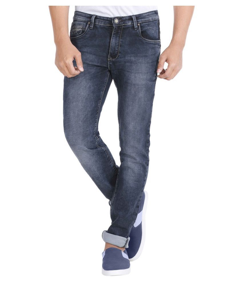 Rick Rogue Blue Slim Jeans