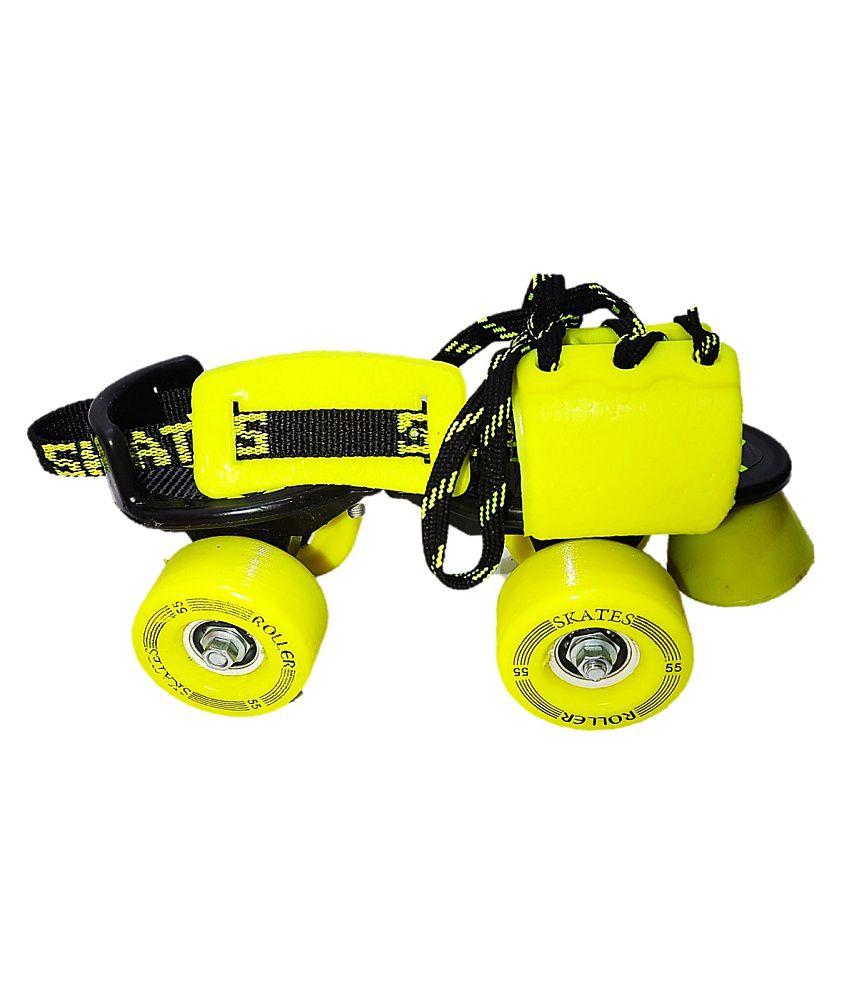 Roller skates helmet -  Jaspo Marshal Adjustable Roller Skates Combo Skates Helmet Knee Guards Bag