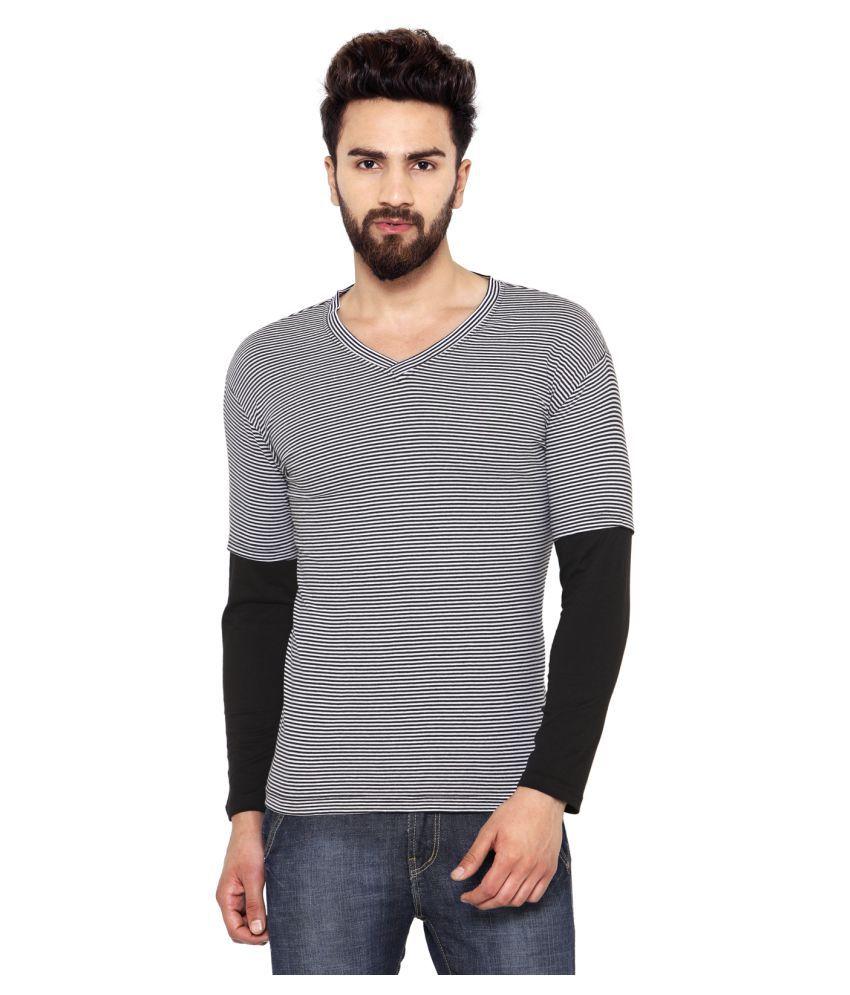 Hypernation Multi V-Neck T-Shirt