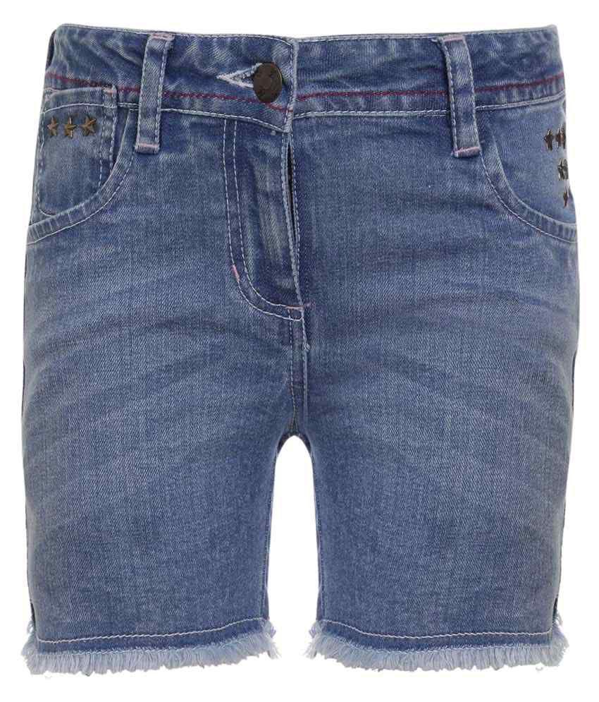 UFO Blue Hot Pant