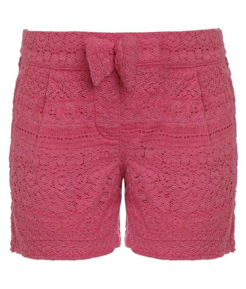 UFO Pink Hot Pant