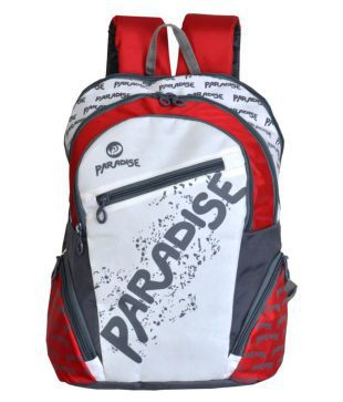 d0b307edb365 Paradise Multicolor Backpack School Bag