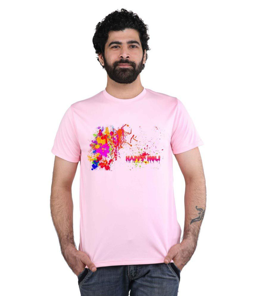 Snoby Pink Round T-Shirt