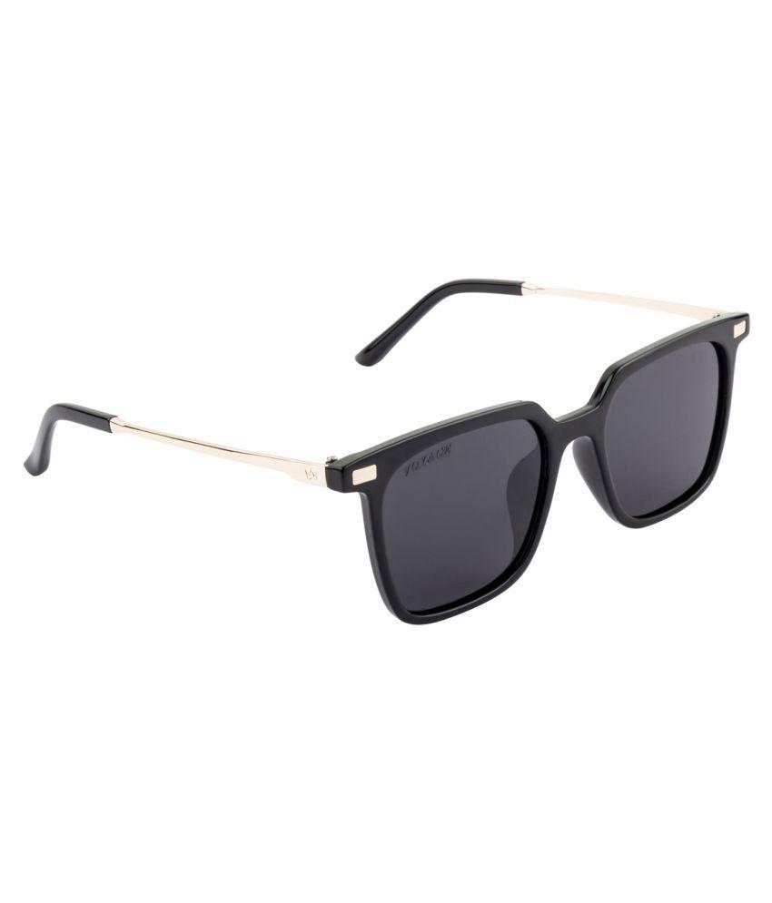 Voyage Black Square Sunglasses ( Y9926MG1882 )
