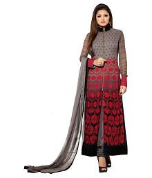 Darshita International Multicoloured Georgette Dress Material
