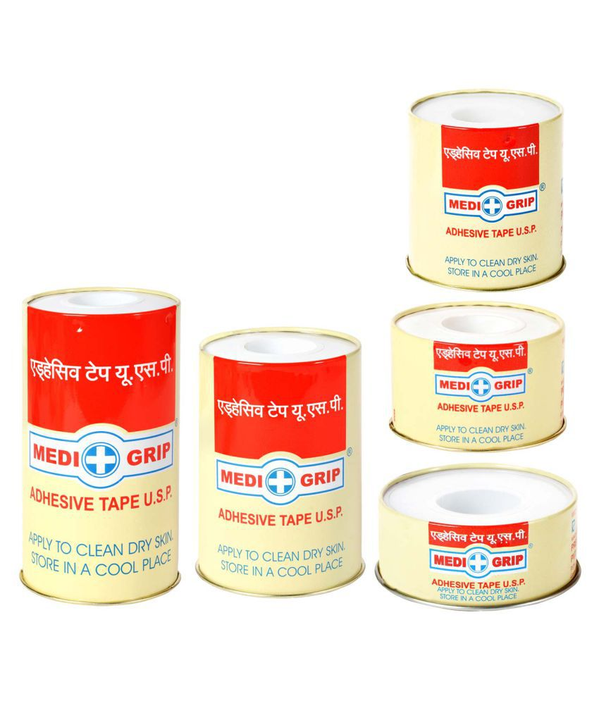 Medigrip Zinc Oxide Plaster (Adhesive Tape Usp) 2.50Cm*1Mtr Regular Cotton