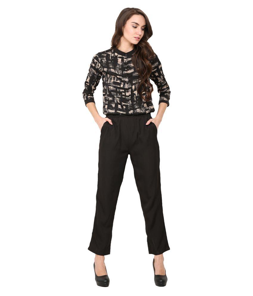 Trend Arrest Polyester Jumpsuits