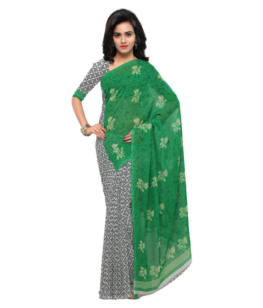 Kashvi Sarees Multicoloured Georgette Saree
