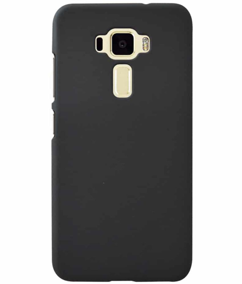 buy popular 0c95a 6365f Asus Zenfone 3 Laser ZC551KL Plain Cases Coverage - Black