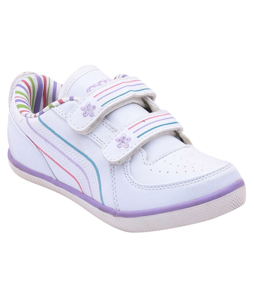 Escan Offwhite Shoes For Boys
