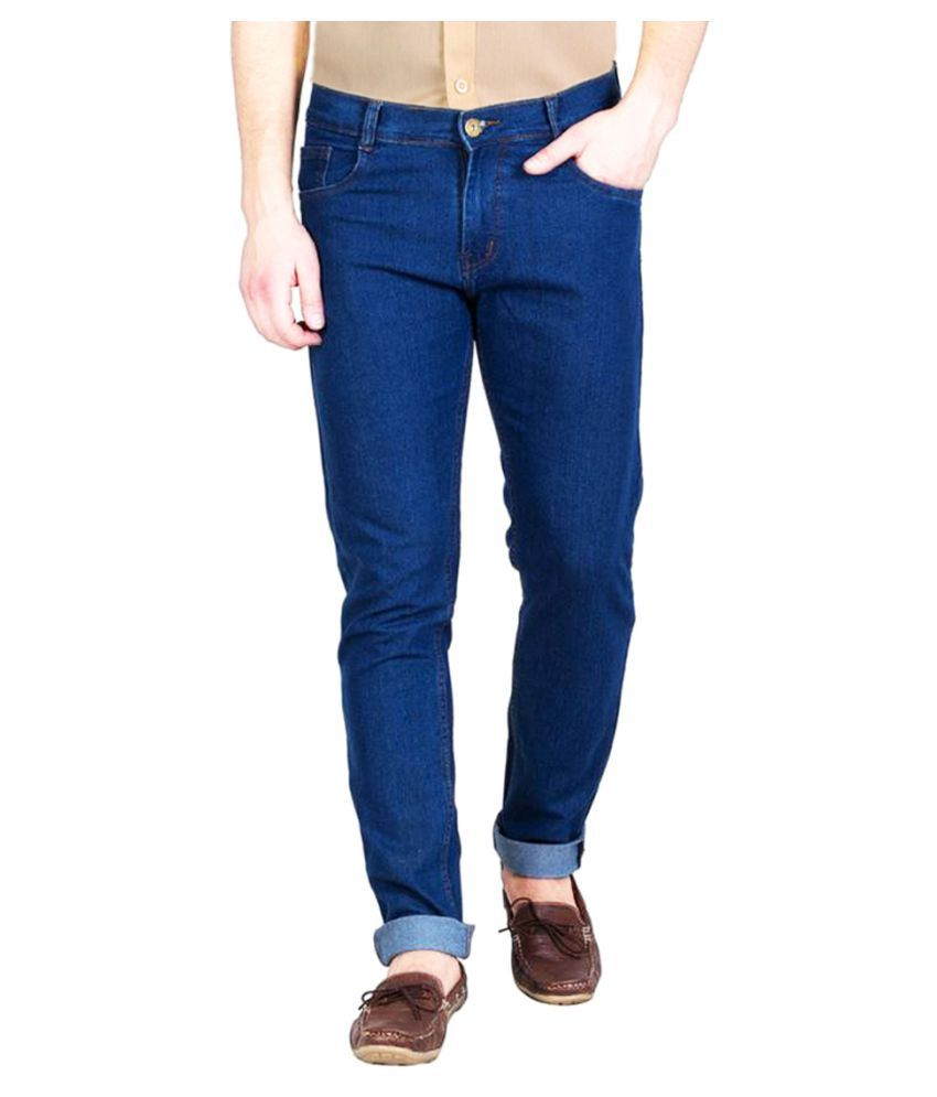 Masterly Weft Blue Straight Jeans