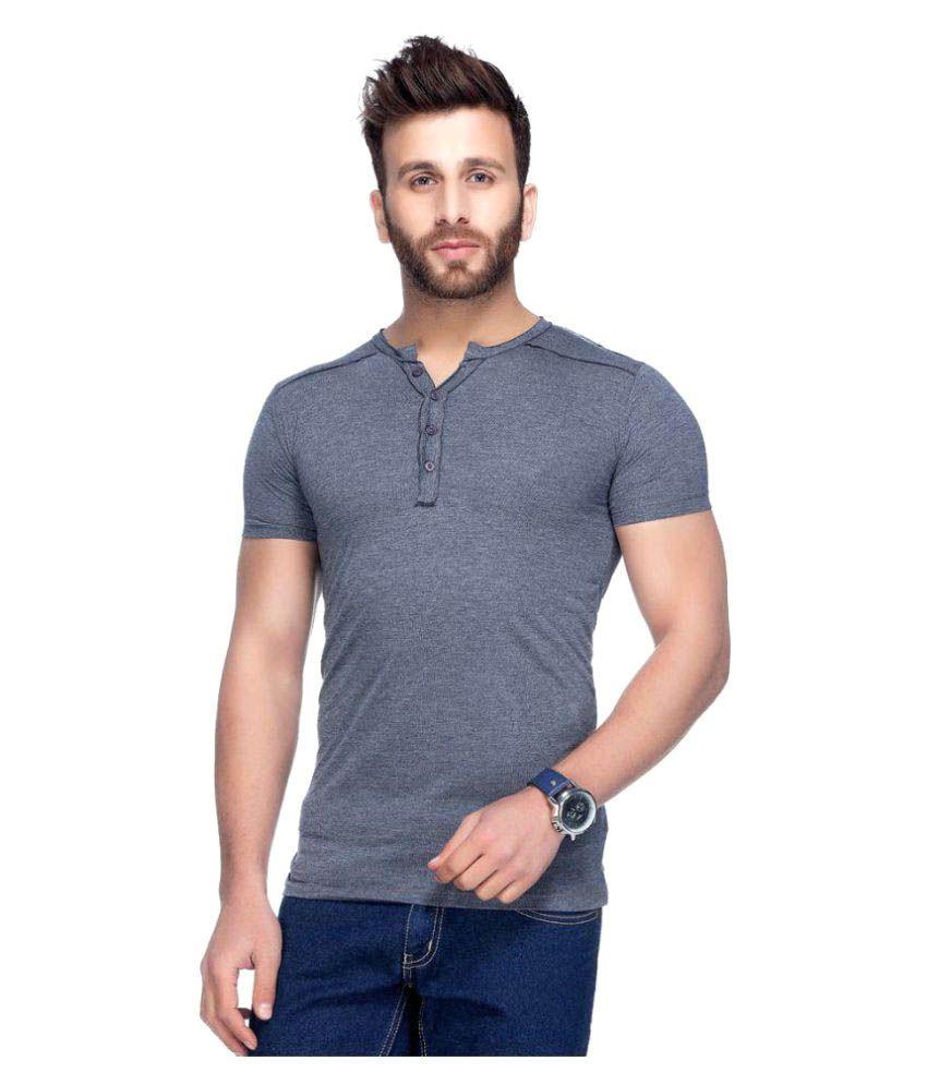 dc6fa8d39b1 Tinted Navy Henley T-Shirt - Buy Tinted Navy Henley T-Shirt Online at Low  Price - Snapdeal.com