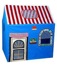 Once More Enterprise Blue Color Play Kids Tent House