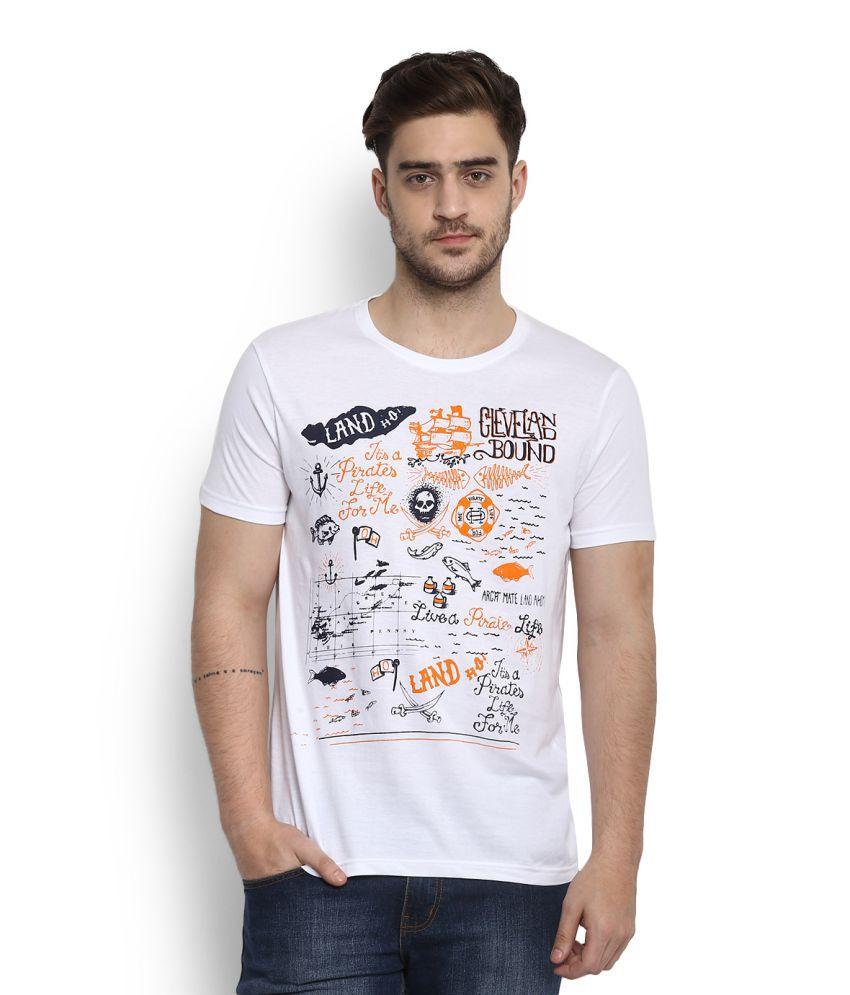People White Round T-Shirt
