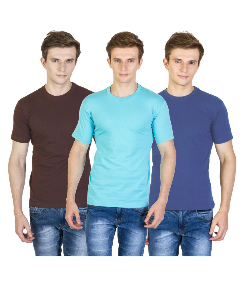 Calaso Multi Round T-Shirt Pack of 3
