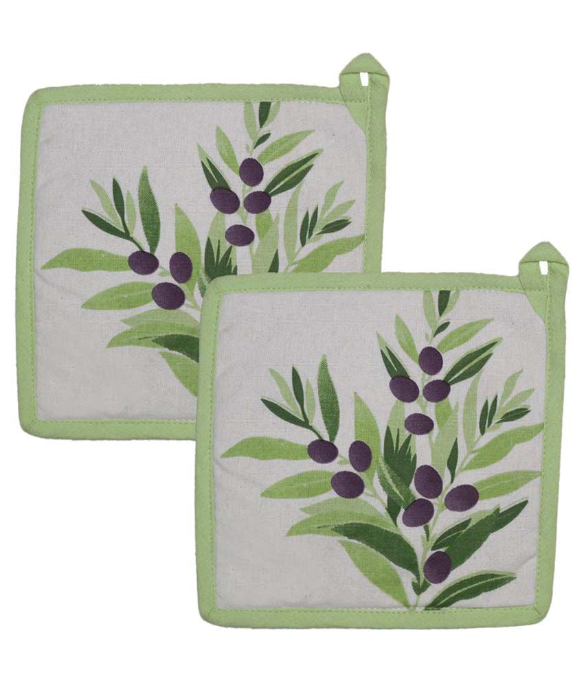 Airwill Cotton Oven Pot Holders - Pack of 2