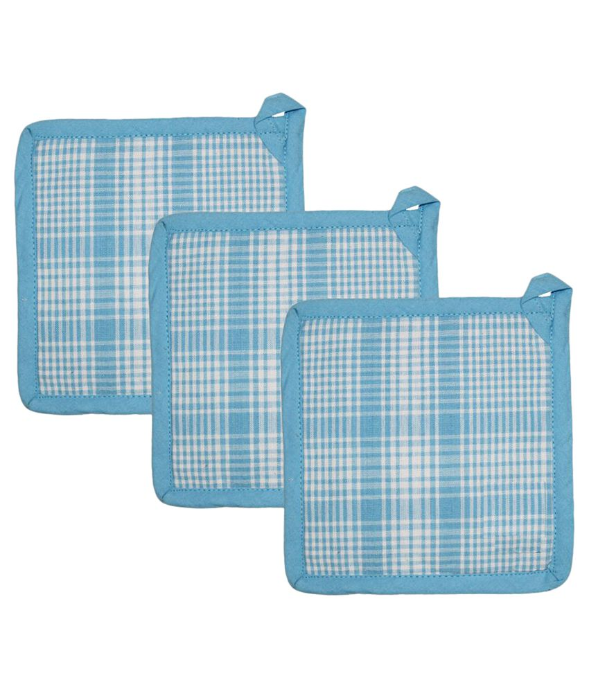 Airwill Cotton Pot Holders - Pack of 3