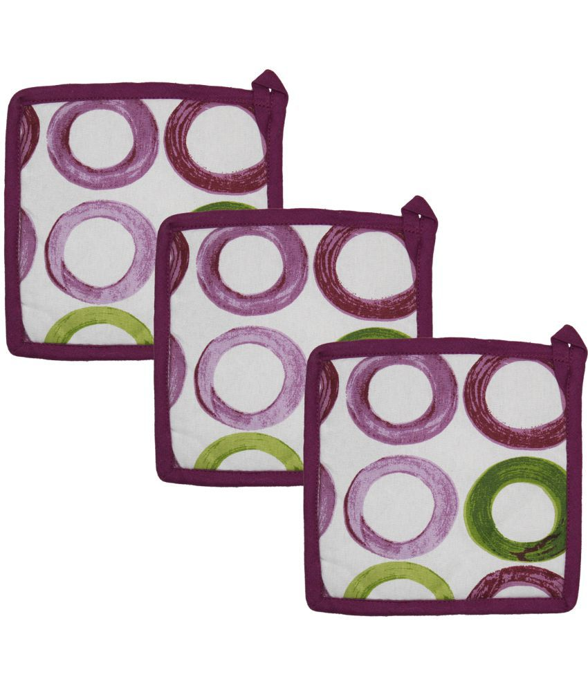 Airwill, Multicolor Pot Holders - Pack of 3