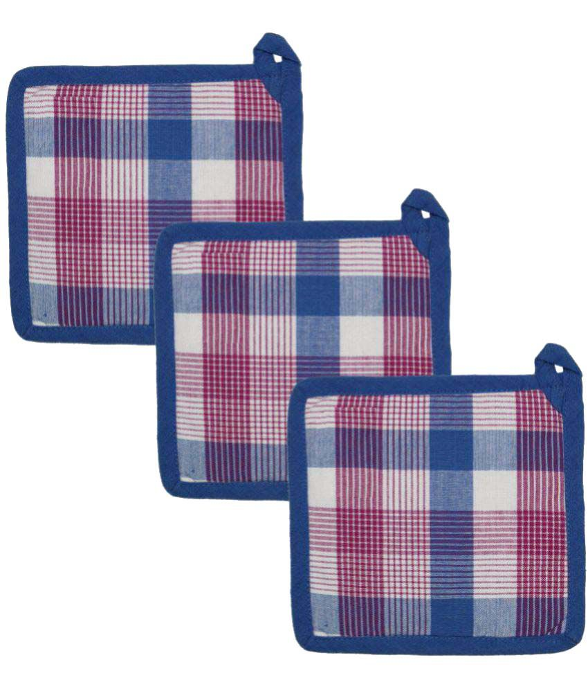 Airwill Cotton Oven Pot Holder (Pack of 3)