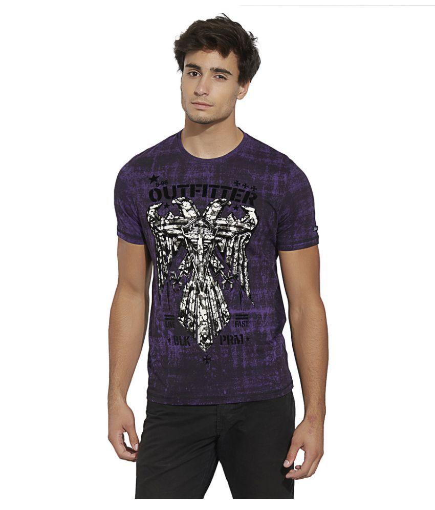 Bonaty Purple Round T-Shirt