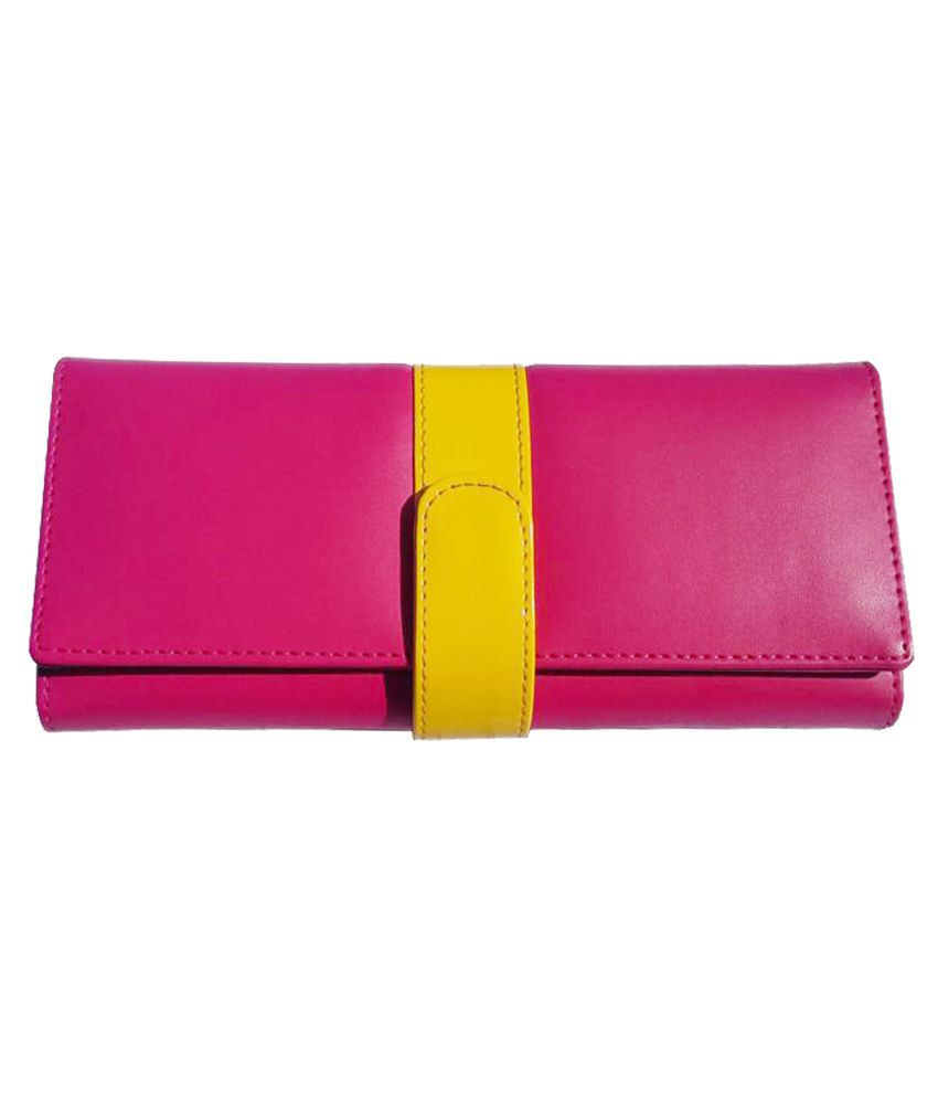 Yours Luggage Pink Wallet