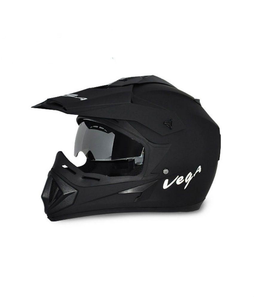 Vega Off Road - Full Face Helmet Dull Black L
