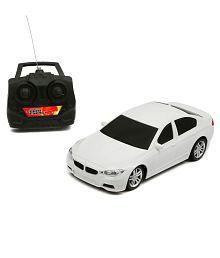 4-channel Remote Control White Car