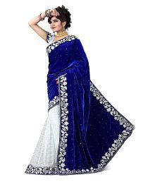 Prabhat Silk Mills Multicoloured Velvet Saree