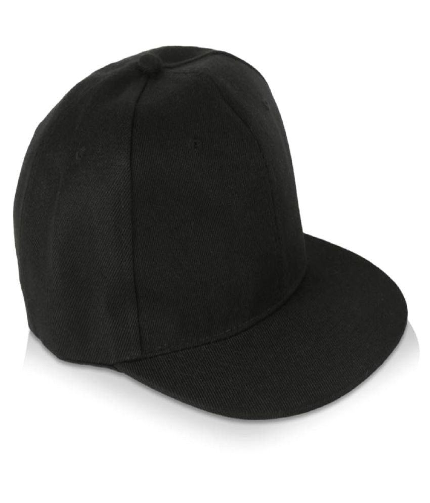 Huntsman Era Black Plain Cotton Caps