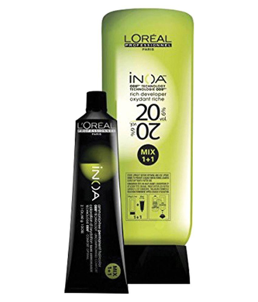 Loreal Inoa No 5 With 6 20vol Inoa Developer Permanent Hair Color