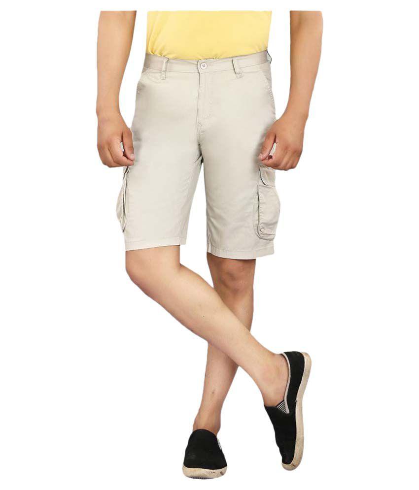 Pecos Bill Beige Shorts