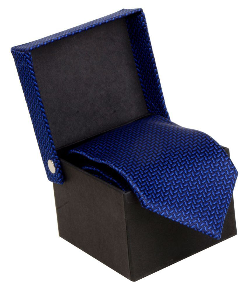 Cazzano Blue Formal Necktie
